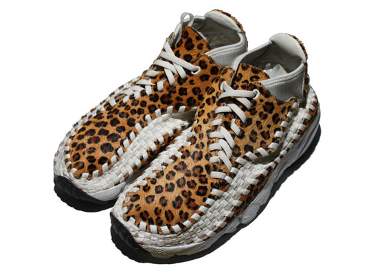 Nike Air Footscape Woven Chukka Motion 11K 'Leopard' 1