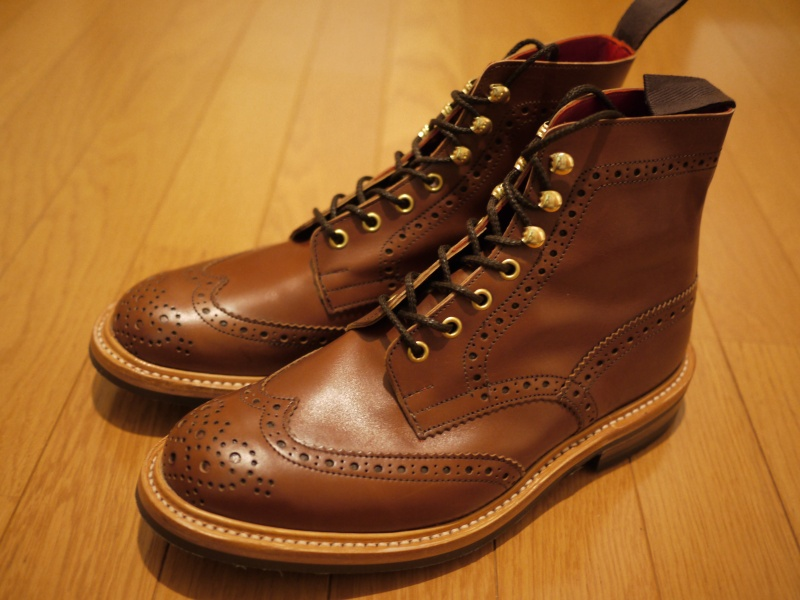 CALEE × Tricker's Country Brown