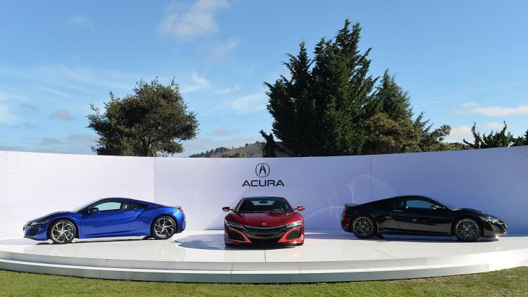 2016 Acura NSX 4