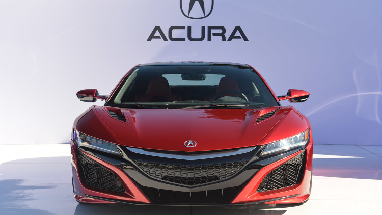 2016 Acura NSX 2