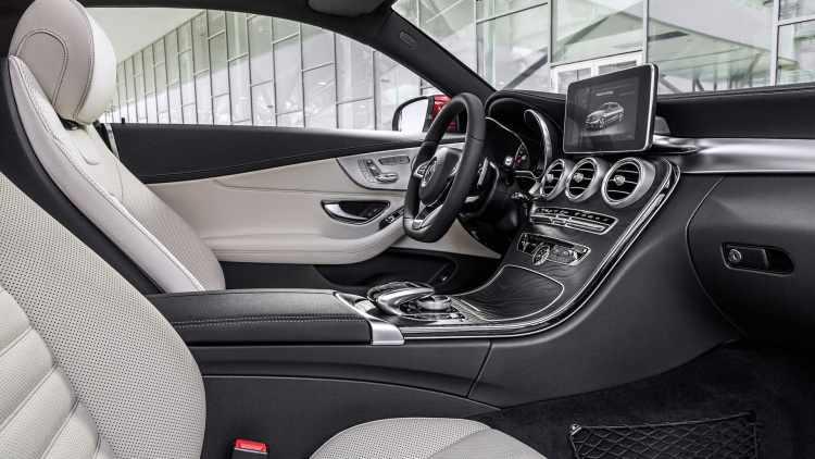 2017 Mercedes-Benz C-Class Coupe 2