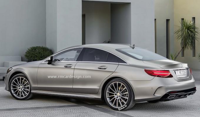 2017 Mercedes-Benz CLS-Class 予想 2