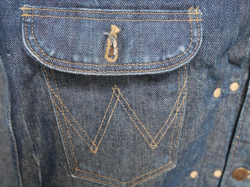 Late 40's Wrangler Vintage Jacket 015