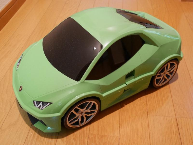 Ridaz Lamborghini Huracan LP610-4 Car 3D Travel Luggage Case Kid's Case 3