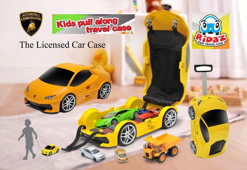 Ridaz Lamborghini Huracan LP610-4 Car 3D Travel Luggage Case Kid's Case