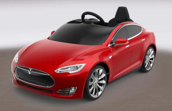 Teslaからバッテリー駆動の子ども電気自動車 005