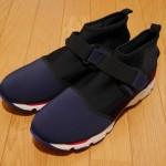 MARNI Sneaker in Selva on Drill Velcro Strap