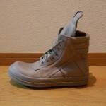 Rick Owens Hi-Top Sneaker/Beige