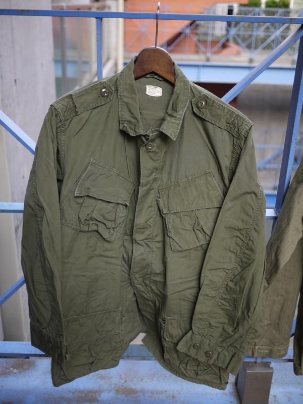 "60's ""U.S ARMY"" Jungle Fatigue Jacket 2nd"
