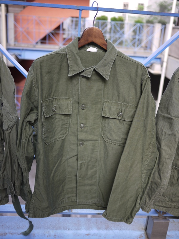 "50's ""US Army"" Utility Shirts 001"