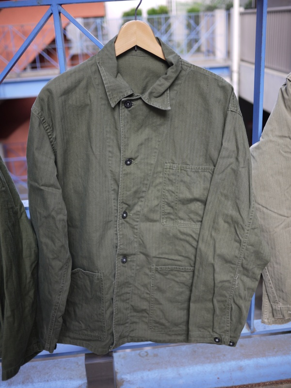 "40's ""US Navy"" M-41 HBT Jacket 001"