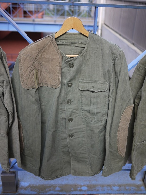 "40's ""US Army"" HBT Shooting Jacket"