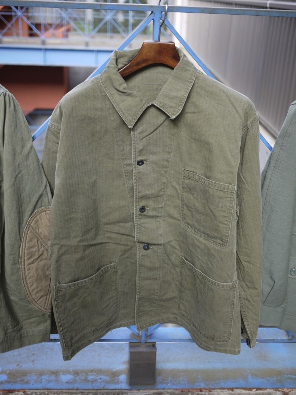 "40's ""US Navy"" M-41 HBT Jacket 002"