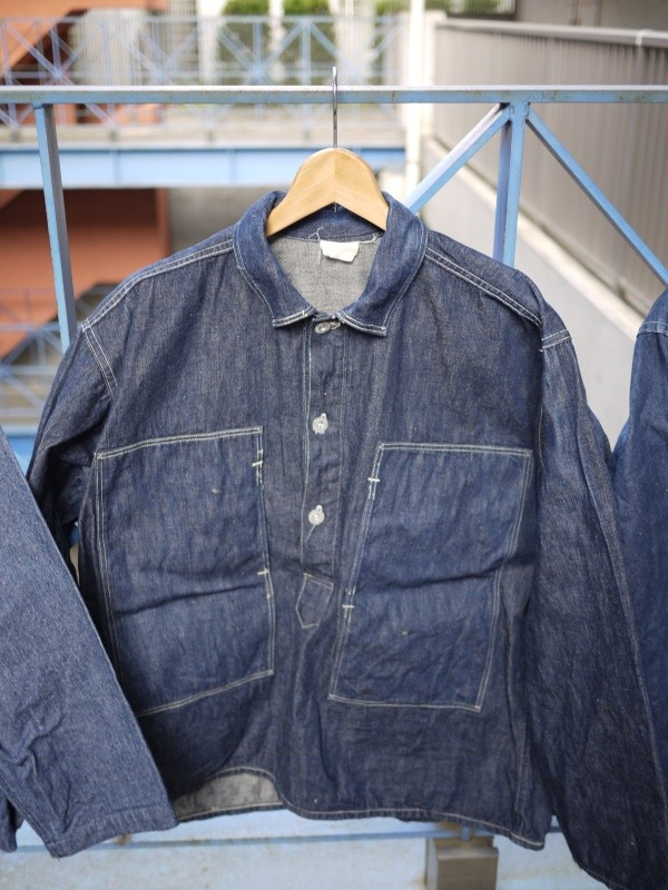 40's U.S. ARMY PULLOVER DENIM JACKET
