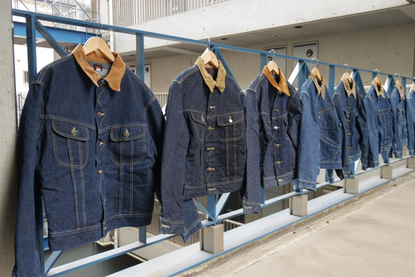 My Lee Storm Rider Denim Jacket Collection 002
